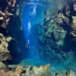 Bucear entre placas tectónicas en Islandia