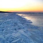 El mar Blanco al norte de Rusia