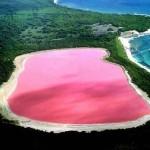 Lago Hillier, el lago rosa de Australia