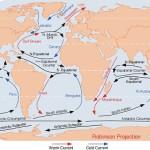 Los tipos de Corrientes Oceánicas