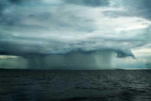 Lluvia en el Oceano