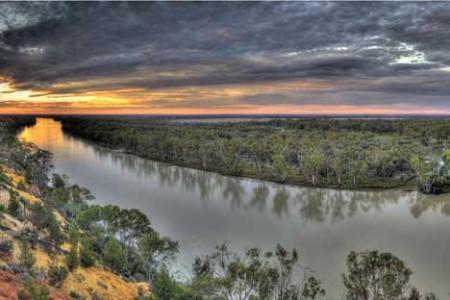 El río Murray, el segundo mayor de Australia