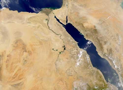 Rio Nilo Satelite