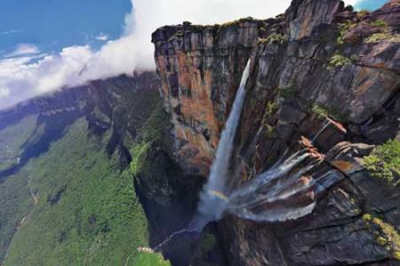 El Salto Ángel, la catarata más alta del mundo