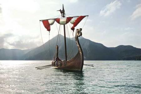 Drakkars, los barcos vikingos