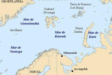 El Mar de Barents, en el Ártico
