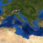 ¿Cómo se formó el Mar Mediterráneo?