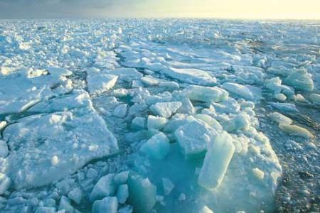 El Océano Glacial Ártico, información