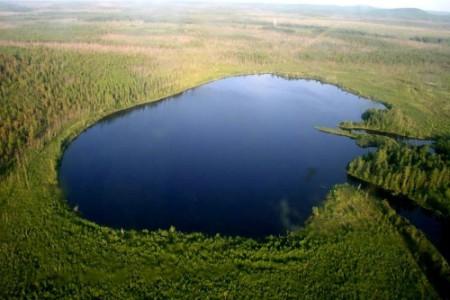 El lago Cheko y el incidente de Tunguska