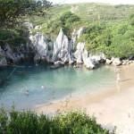 Gulpiyuri, una playa interior en Asturias