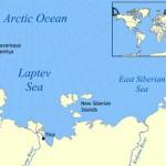 El Mar de Láptev, en la fría Siberia