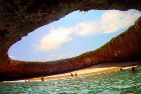 Playa Escondida, maravilla oculta en México