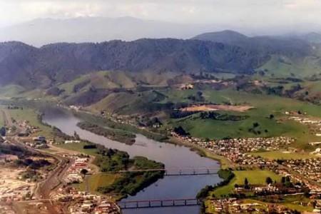 El río Waikato, en Nueva Zelanda